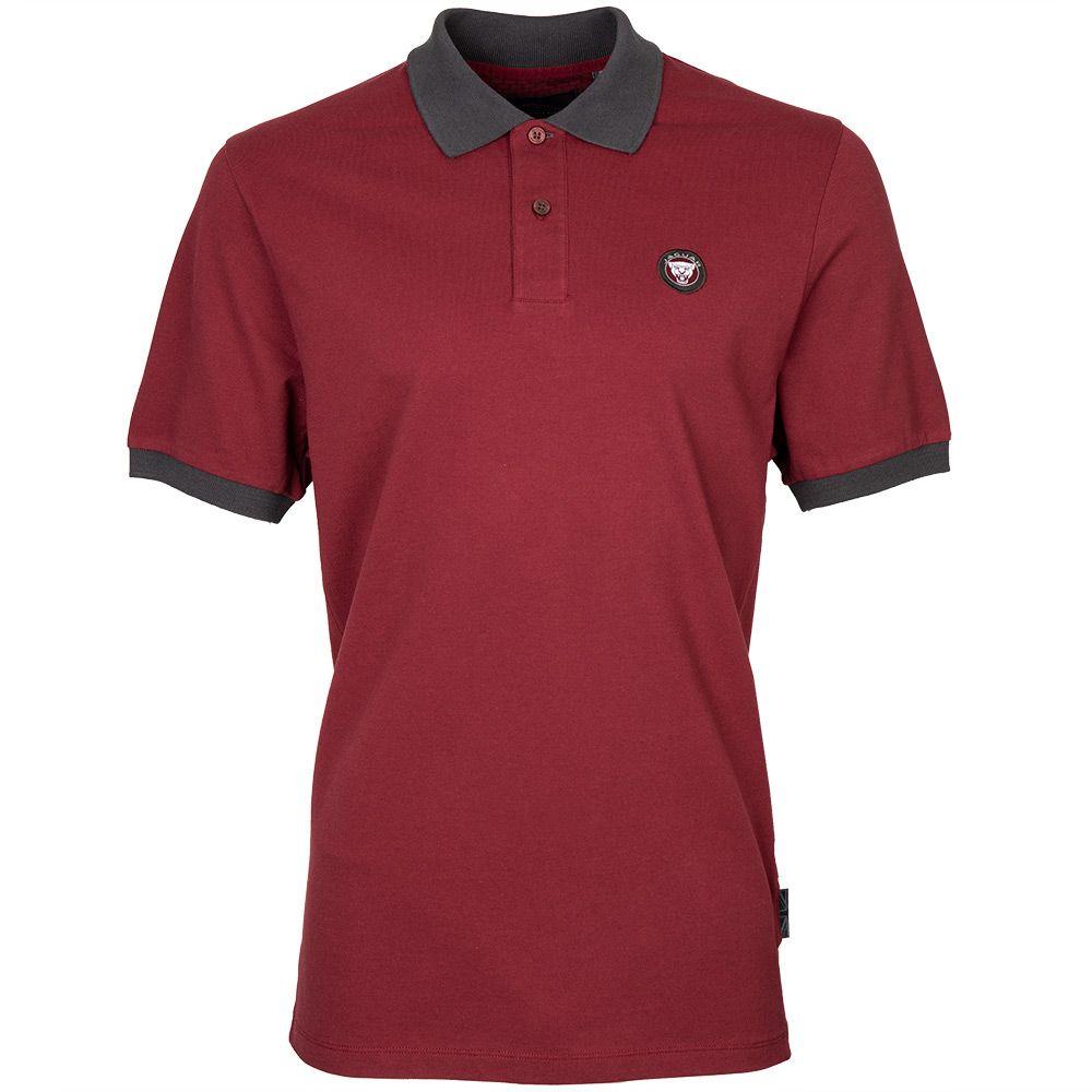 Men's Accent Collar Polo Shirt